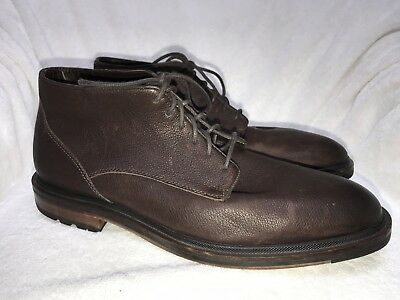 9467b3c8e4c9 Cole Haan Cranston Men s Brown Water Resistant Chukka Boot Sz 12M Light Worn