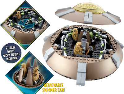 Construction Sets--Doctor Who - Character Building Dalek UFO Set