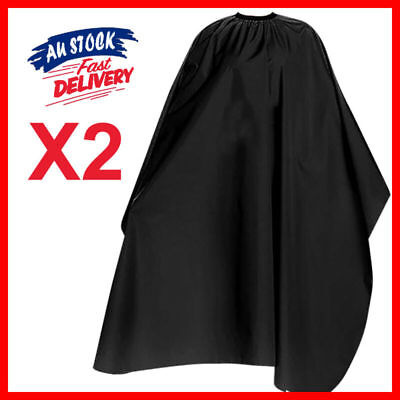 2pcs Styling Gown Barber Cloth Hairdressing Cape Nylon Cutting Hair Salon Pro