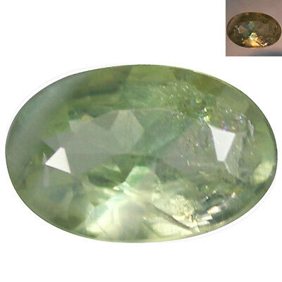 0.47Ct Awesome Oval cut 6 x 4 mm Green To Red Color Change Alexandrite