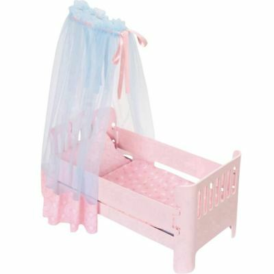 Zapf Baby Annabell Sweet Dreams Bed Doll Furniture