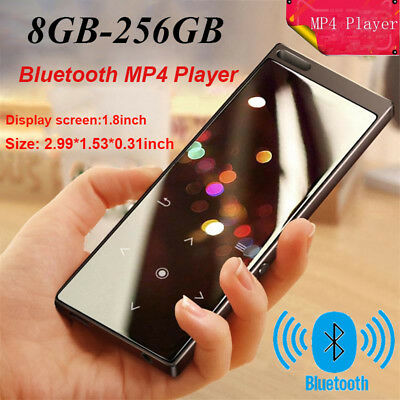 Bluetooth MP4 Player 8GB-256GB TF Card MP3 Player Speaker Walkman Video Player