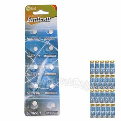 200 AG4 SG4 LR626 LR66 Alkaline Button Cell Battery Watch for clock