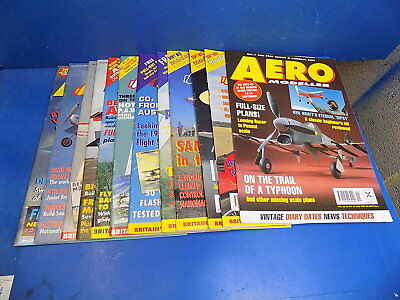 Aero Modeller Magazine w/ Plans - Select From Back Issues