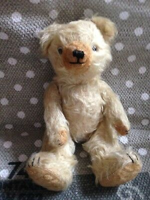 Entzückender Babybär - Old Mohair Teddy Bear -Vintage - Antik Teddy Antique 26cm