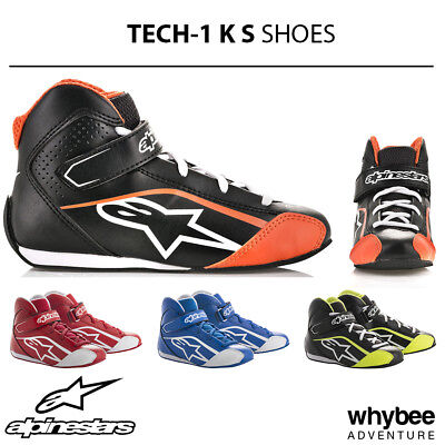 2712518 Alpinestars 2019 TECH-1 K S Kart Boots Children Kids Cadet Size EU 30-32
