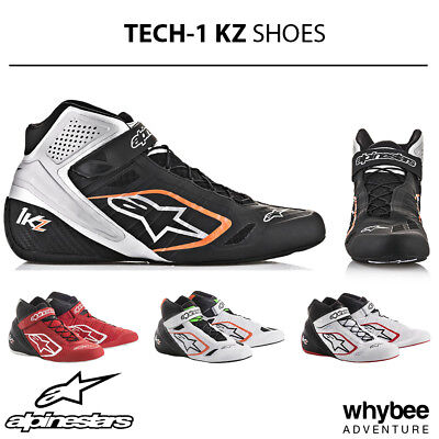 2713018 Alpinestars 2019 TECH-1 KZ Kart Racing Boots - Top of the Range Model!