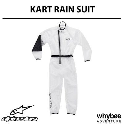 3266019 Alpinestars 2019 KART RAIN SUIT 100% Waterproof Lightweight for Karting