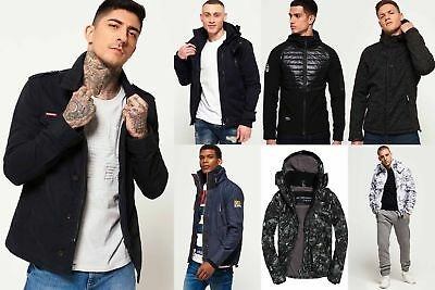 New Mens Superdry Jackets2 Selection - Various Styles & Colours 240119