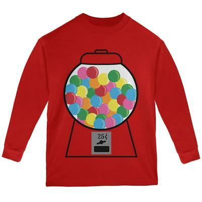 Vintage Original DOTS Candy Licensed Logo Youth Long Sleeve T Shirt