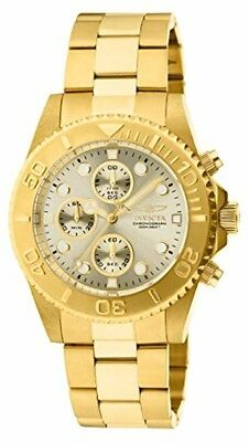 Invicta Men's 1774 Pro-Diver Collection Gold Stainless Steel Watch