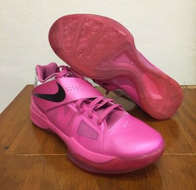 premium selection 191ba 50945 Nike Zoom KD 4 Aunt Pearl 2012 Think Pink Size 12 Basketball Shoe 473679-601