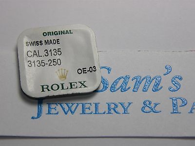 Genuine Rolex Part: Setting Wheel for Calibers 3130, 3135, 3175, 3185 P#3135-250