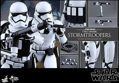 Clearance! Hot Toys 1/6 Star Wars MMS319 First Order Stormtroopers Set Figure