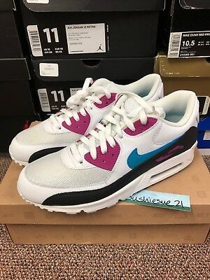 03eb76e212 Nike Air Max 90 Turquoise Pink 10.5 Infrared Grey Off White Cork Curry Atmos