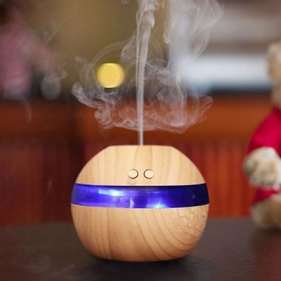 LED Aroma Ultrasonic Air Humidifier Essential Oil Diffuser Aromatherapy Purifier