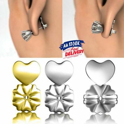Hypoallergenic Ear Backs Earrings Fits Studs Auxiliary Magic Lifts Support Bax