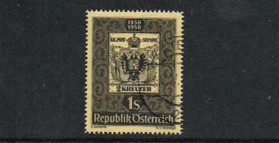 STAMPS   from  AUSTRIA    1950  100 Years Postal History  (FU)  lot  A140
