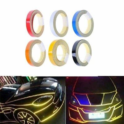 1cm*5m Car Truck Reflective Warning Conspicuity Roll Tape Film Sticker PVC