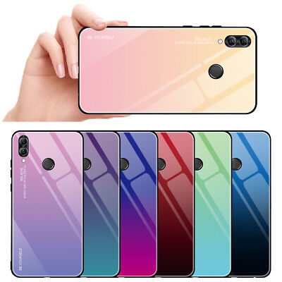 Shockproof Case Tempered Glass Cover For Huawei P Smart 2019 Honor 20 10 Lite