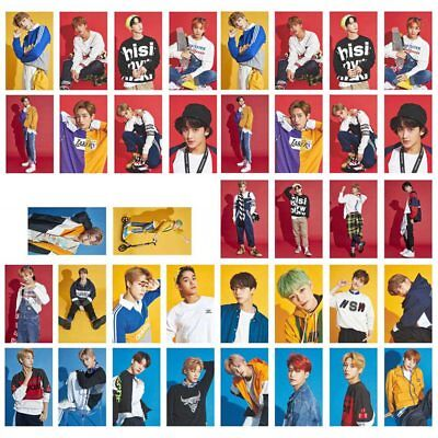 30pcs/set NCT SEASON'S GREETING Lomo Cards Collective Photocards Kpop Cards Gift