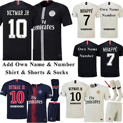 18/19 Football Kits Jersey Sportswear Soccer Shirts For Kids Adults Suits+Socks