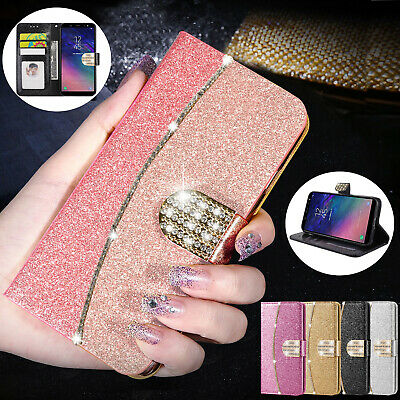 Case Cover For Samsung Galaxy A6 A7 A8 A9 2018 Flip Leather Wallet Card Holder