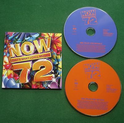 Now That's What I Call Music 72 Alexandra Burke The Prodigy Take That + 2 x CD