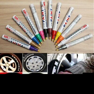Universal Colorful Waterproof Permanent Paint Marker Pen Car Tire Tyre Oil Based