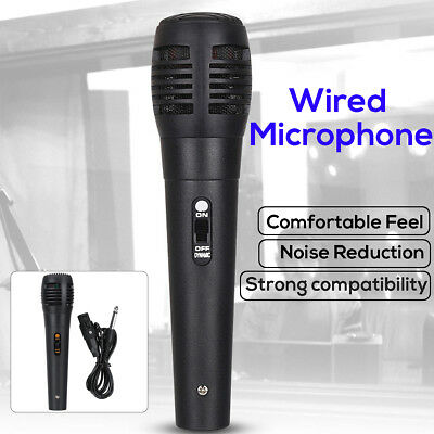 Uni-directional Handheld Wired Microphone Professional Mic KTV Karaoke Vocal 🔥