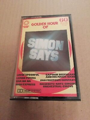 V/a * Golden Hour Of Simon Says * Cassette Album ( Zcgh 862 )