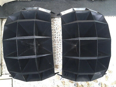 A Pair of Western Electric 1803 Horns 18 Holes for Altec JBL RCA. Extreme Rare!