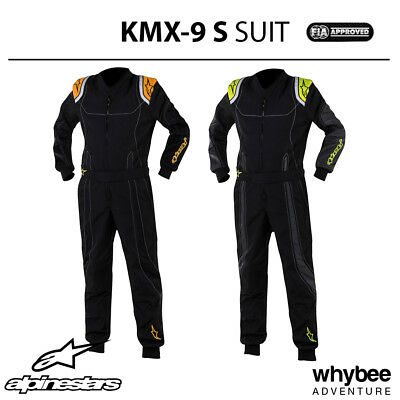 3356517 Alpinestars Kids Youth 2018 KMX-9 S Karting Kart Suit CIK FIA Level 2