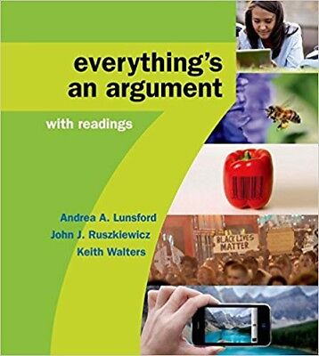 Everything's an Argument with Readings, 7th Ed. (PDF)