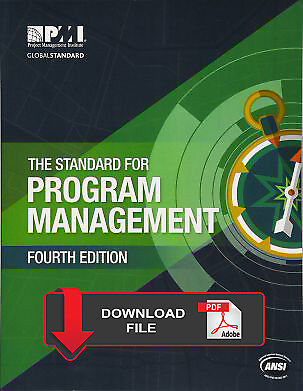 The Standard for Program Management 4th Edition PMI PMBOK Foundational Standards