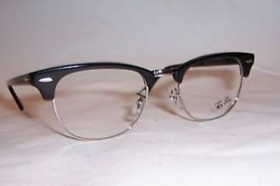 c956a7785d RAY-BAN RX HIGHSTREET Framed Prescription Eye Glass Shiny Black 51 ...