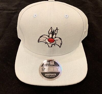 Looney Tunes Sylvester The Cat Tunesquad Space Jam 11 New Era 59Fifty Fitted Hat