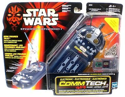 Star Wars Episode 1 Electronic CommTech Reader and Card No.84151 NIP