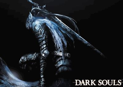 Dark Souls Remastered Game Poster Print T051 A4 A3 A2 A1 A0|