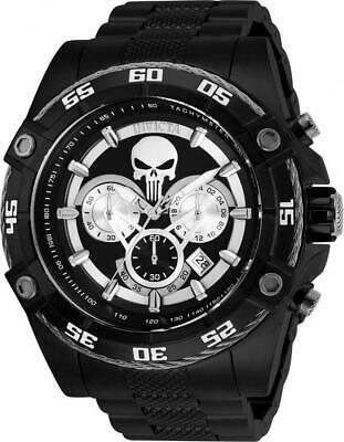 Invicta Marvel Punisher Limited Edition 26862 Men's Black 52mm Chronograph Watch