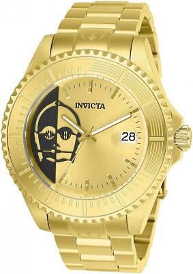 Invicta Star Wars Automatic 26166 Men's C3P0 Limited Edition Stainless Watch