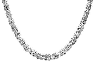 Trendor Jewellery Necklace for Men 925 Sterling Silver King's Chain 4,3 mm 08856