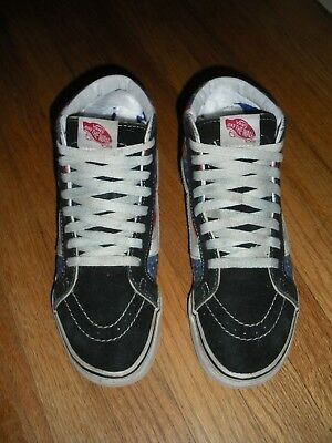 8e0b4c77ba2b NEW VANS VAULT Sk8-Hi Cup LX Horween Black Solid Leather Skate High ...