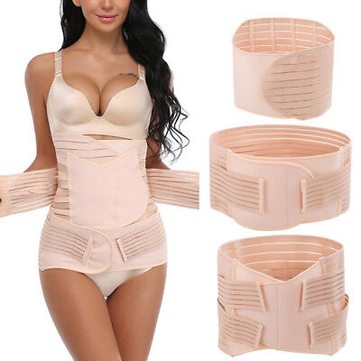 3 in 1 Postpartum Support Recovery Belt Women Waist/Pelvis Postnatal Body Shaper