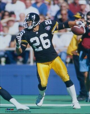 6348f547888 Rod Woodson Pittsburgh Steelers NFL Football Unsigned Glossy 8x10 Photo A