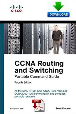 CCNA Routing and Switching Portable Command Guide  -  PDF DOWNLOAD - read on PC