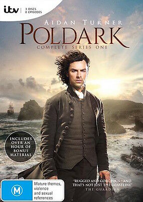 POLDARK Series : Season 1 : NEW DVD