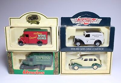 Vintage Die-cast Models Job Lot Advertising Model Cars Diecast