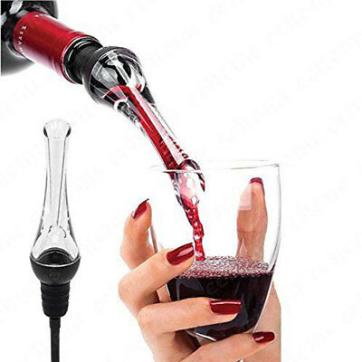 Acrylic Aerating Pourer Accessories Portable 150 Degree Wine Aerator Wine Pourer