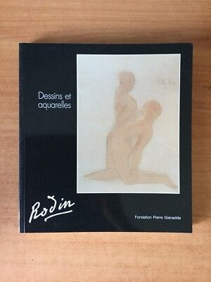 AUGUSTE RODIN 1840-1917 dessins et aquarelles des collections suisses e